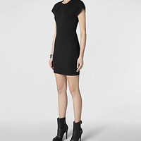 Womens Daphne Dress (Black) | ALLSAINTS.com
