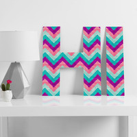 Jacqueline Maldonado Chevron Sweet Decorative Letters