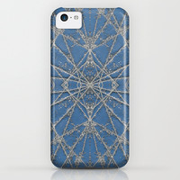 Snowflake Blue iPhone & iPod Case by Project M