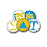 Sigma Delta Tau Sorority Button Set