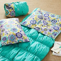 Ruched Sleeping Bag + Pillowcase - Pool