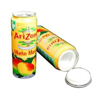 Arizona Mango Diversion Safe Can Stash + 1 1/4 Rasta Wrap