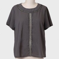 Next In Line Curvy Plus Blouse