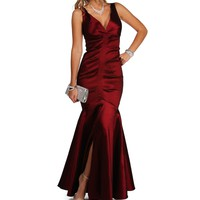Julissa- Brick Prom Dresses
