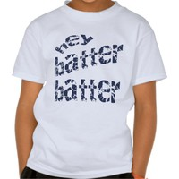 Zazzle Unisex Hey Batter Batter Baseball/Softball