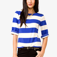 Essential Striped Ponte Top