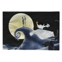 The Nightmare Before Christmas Jack Sally And Zero Pillowcase
