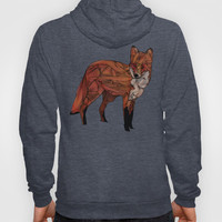 Red Fox Hoody by Ben Geiger