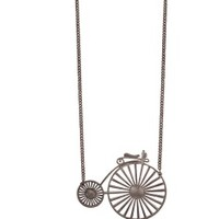 Old Fashioned Bicycle Necklace - The Afternoon
