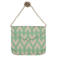 City Clutch, Mint ArrowBASIK 855