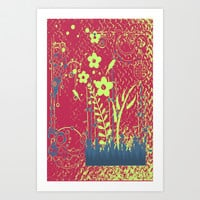 Florales Art Print by LoRo  Art & Pictures