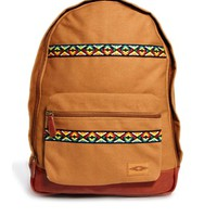 ASOS Backpack with Geo-Tribal Trim