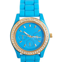 Shiny Happy Rubber Watch | Wet Seal