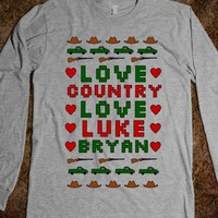 Luke Bryan Ugly Sweater (Underbase)