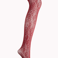 Baroque-Inspired Fishnet Tights