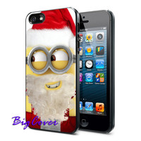 SantaMinion Claus Funny - iPhone Case - iPhone 4 iPhone 4s - iphone 5 - Samsung S3 - Samsung S4