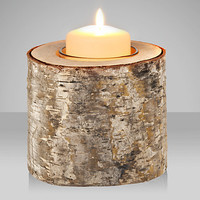 Buy Broste Birch Tealight Holder online at John Lewis