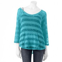 Hang Ten Striped Top - Juniors