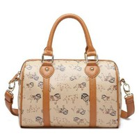Fashion Sweet Horses Print Tote Bag