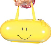 YELLOW HAPPY PILL PURSE