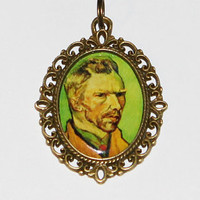 Vincent Van Gogh Pendant Necklace