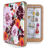 Aimee St Hill Croc And Flowers Orange BlingBox