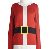 Just Be Claus Sweater | Mod Retro Vintage Sweaters | ModCloth.com