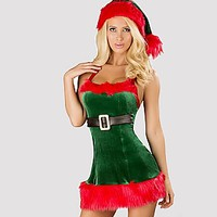 Santa's Envy Holiday Costumes - Alley Rose Lingerie Club