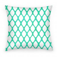 Glitter Ornament Pillow (mint)