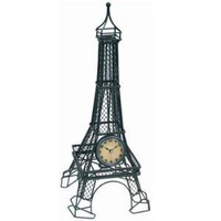 Eiffel Tower Table Clock at Wrapables - Desktop Clocks