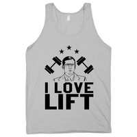 I Love Lift - Nerdy Workout Tank Top