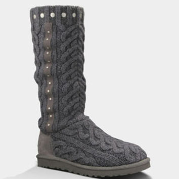Ugg Feliciana Womens Boots Charcoal  In Sizes