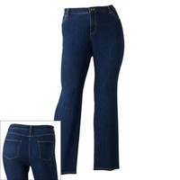 Croft & Barrow® Straight-Leg Jeans - Women's Plus