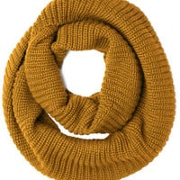 Dressed to Chill Circle Scarf in Mustard | Mod Retro Vintage Scarves | ModCloth.com
