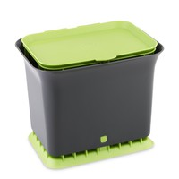 Full Circle Fresh Air Kitchen Compost Collector, Green