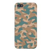 Brown color Camouflage Pattern iPhone 5/5S Covers
