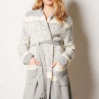 Intarsia Sweater Robe