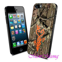 Love Browning Camo - iPhone Case - iPhone 4 iPhone 4s - iphone 5 - Samsung S3 - Samsung S4