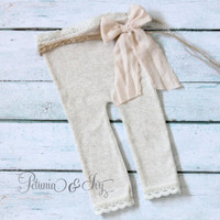 Newborn Girl Baby Pants
