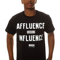 The Affluence Tee in Graphite