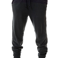The Kilimanjaro Sweater Pants in Midnight Navy and Navy Heather