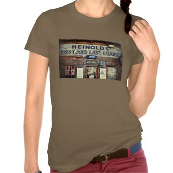 """First and Last Chance"" Saloon Photograph T-shirt"