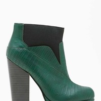 Shoe Cult Spectrum Boot - Emerald