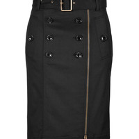 Burberry Brit - Stretch Cotton Pencil Skirt