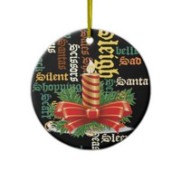 Santa Have a Nice Day and a Better Night.jpg Christmas Ornaments