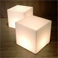 Lightbox Cube Table - Big Merch