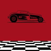 Car Style A Vinyl Wall Decal 22366