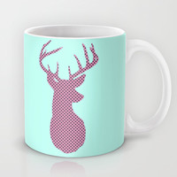 Deer Polka Dot Mug by LookHUMAN