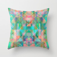 Graphic 8X Throw Pillow by Mareike Böhmer Graphics