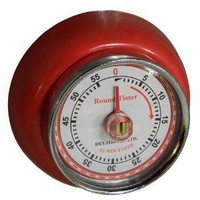 Museum of Useful Things - Magnetic Kitchen Timer - Red $12
